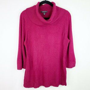 Designers Originals Pink Sweater Shirt Top Size XL